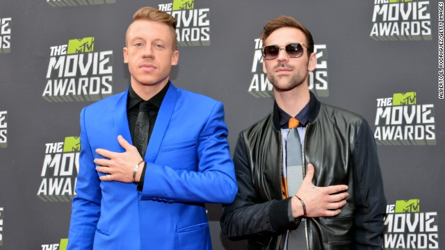 Macklemore and Ryan Lewis make Billboard history