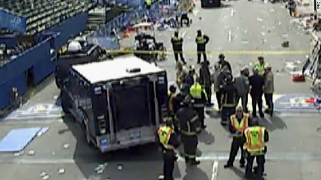 Explosions rock Boston Marathon, several injured