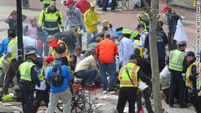 3 killed, more than 140 hurt in Boston Marathon bombing