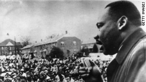 King, speaking here in Selma, Alabama, was a \