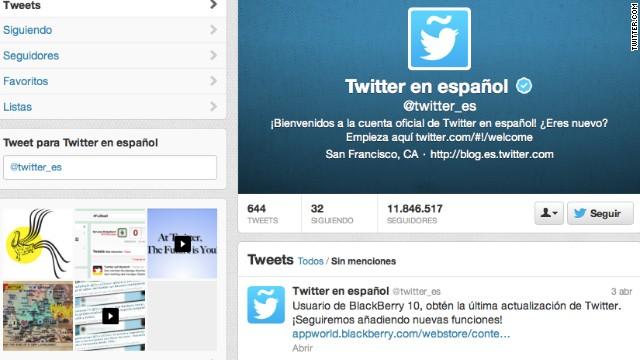 El español es la tercera lengua más utilizada en Internet