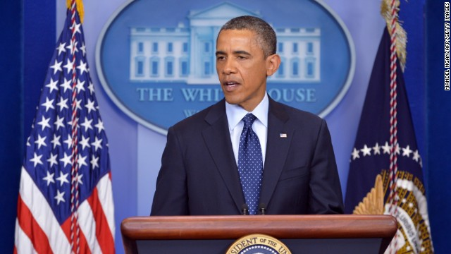 Obama to deliver 11:30 a.m. statement