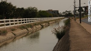 Garza\'s body and key evidence were found in this canal.