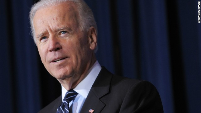 Biden campaigns for vulnerable Senate Democrat