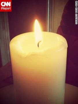Support poured in from around the world. <a href='http://ireport.cnn.com/docs/DOC-956591'>Elisa Gioia</a> lit a candle in northeastern Italy and prayed for the Boston runners.