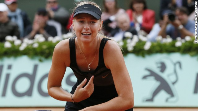 Maria Sharapova won the French Open last year to become the 10th woman to claim all four grand slams. But she plans on playing for several years before pursuing her business interests.