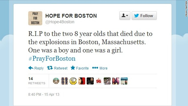 5 viral stories about Boston attacks that aren't true