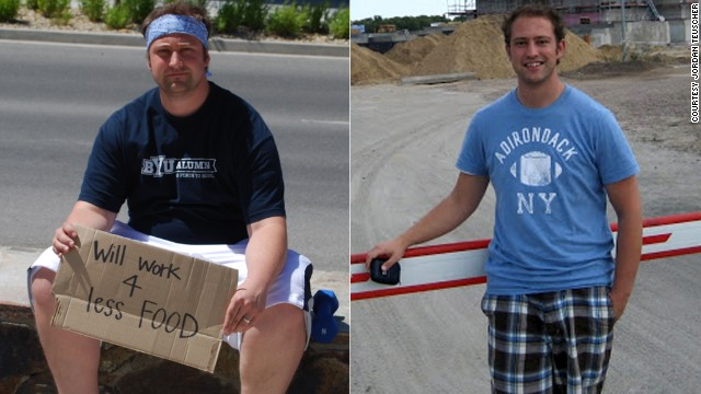 Jordan Teuscher convinced his whole family to join the HealthyWage challenge. They lost a combined 255 pounds and <a href='http://www.cnn.com/2013/04/19/health/cash-family-weight-loss/index.html'>won $10,000</a>.