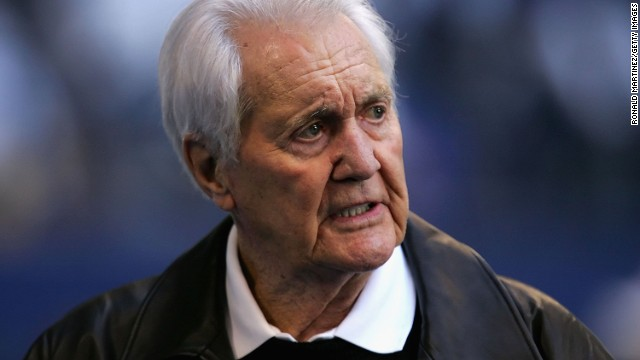 Pat Summerall, the NFL football player turned legendary play-by-play announcer, was best known as a broadcaster who teamed up with former NFL coach John Madden. Summerall died April 16 at the age of 82.