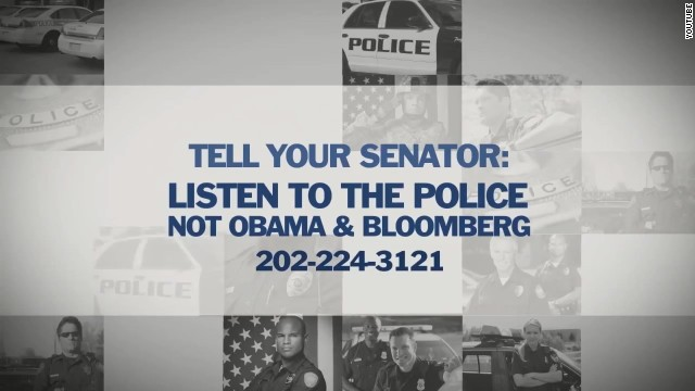 New NRA web ad: listen to police, not Obama