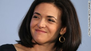 Sheryl Sandberg: Men must speak up