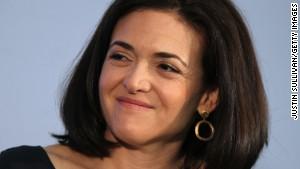 Sheryl Sandberg: Men must speak up