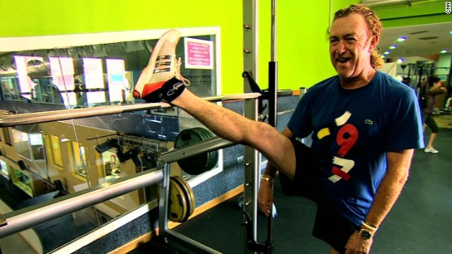 Miguel Angel Jimenez has spent the past four months in the gym undergoing a rehabilitation program after suffering a broken leg in a skiing accident. The Spaniard underwent surgery after breaking the tibia at the top of his right leg.
