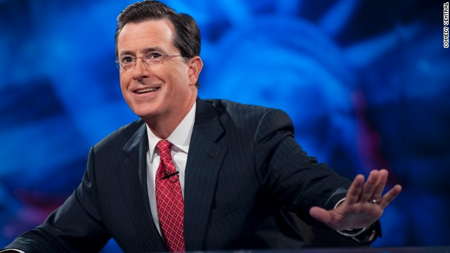 Stephen Colbert responds to Boston bombings