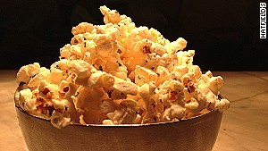 Rosemary popcorn from Hatfield\'s in Los Angeles