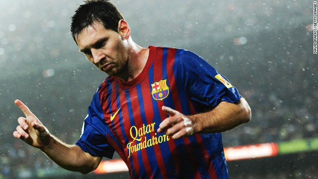 Barcelona, who count arguably the world's best player Lionel Messi among their ranks, are third on the list, a