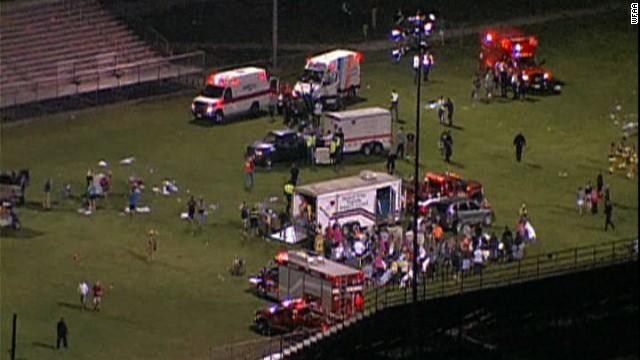 Una tormenta podría complicar las tareas de rescate tras explosión en Texas