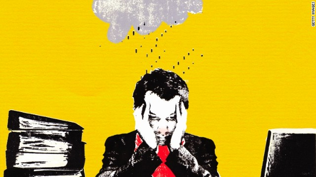 Under a cloud? Worrying, neurotic types can still thrive at work.