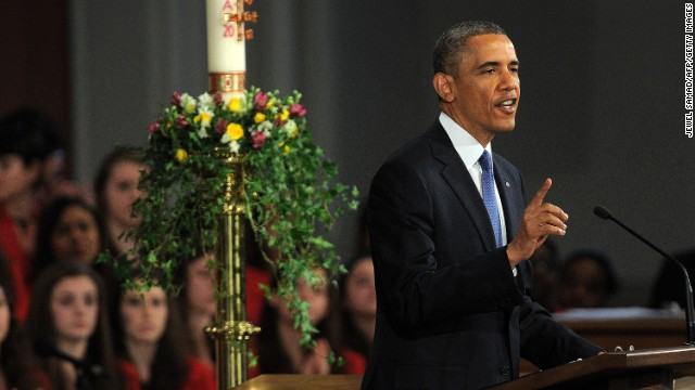 My Take: Obama channels Reagan at Boston interfaith service