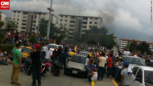 "Sosa describes the protests this week in the city of Merida as ""intense."""