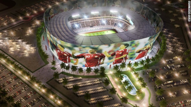 To combat the intense desert heat in the summer, each stadium would be equipped with zero carbon cooling