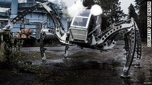 'Mantis:' the monster-sized hexapod