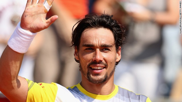 Italy's world No. 32 Fabio Fognini will make his debut in a Masters quarterfinal after his upset win over Czech fourth seed Tomas Berdych.