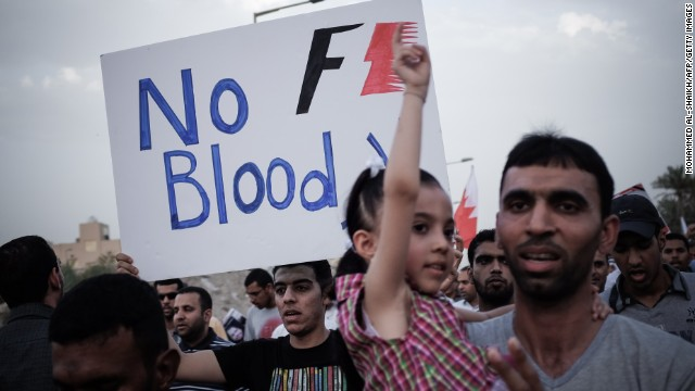 Bahrain Grand Prix: The protests