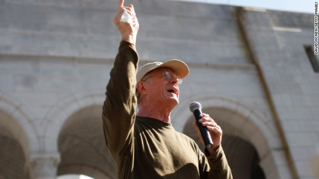 "Actor and environmentalist Ed Begley Jr. has made a living going green with shows like ""Living with Ed."" He dropped meat, avoids driving and tries to live off the electrical grid in a self-sufficient home. In February, he spoke during the ""Forward on Climate"" rally in Los Angeles for action on climate change/"