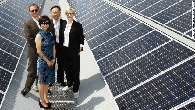 In 2010, the Sydney Theatre Company in Australia, switched on the new rooftop solar panels on its historic home, The Wharf theater. Sustainability is part of the vision of the theater's artistic directors, actress Cate Blanchett and her husband, Andrew Upton.