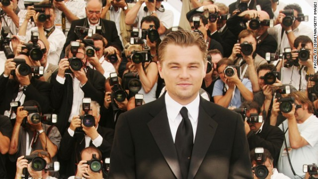 "Actor Leonardo DiCaprio gets green cred for his solar house and hybrid car, but he also produced and narrated the documentary, ""The 11th Hour."" The film detailed problems caused by global warming, and considered ways to heal the environment. DiCaprio attended an event for the film at the Cannes Film Festival in 2007."