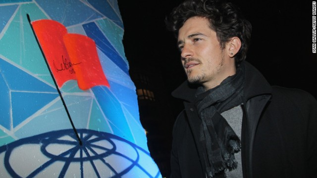 Actor Orlando Bloom falls into that hybrid-driving, solar-supporting celeb camp. He's a regular at green events -- like this 2010 Cinema for Peace Green Evening in Berlin -- and supports initiatives like Global Cool, an organization with a mission to raise awareness about climate change.