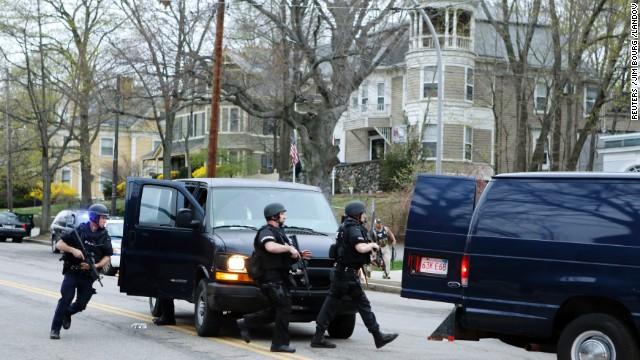 La policía detiene al segundo sospechoso en el atentado terrorista de Boston