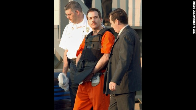 Eric Robert Rudolph -- who was convicted of a string of bombings, including the 1996 Olympic Games in Atlanta -- eluded capture until 2003. He was arrested in Murphy, North Carolina, and is serving four consecutive life sentences plus 120 years.