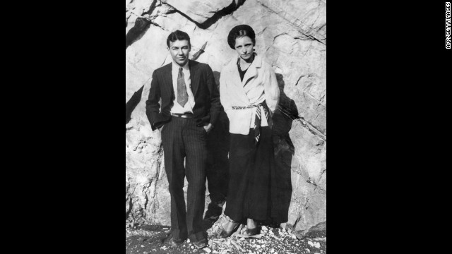 Lovebird bandits Bonnie Parker and Clyde Barrow are believed to have committed 13 murders and several robberies and burglaries during the Great Depression before they were ambushed and killed by police in 1934.
