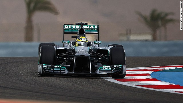 Nico Rosberg was fastest in Saturday qualifying to claim the second pole position of his career, and Mercedes' second in a row after Lewis Hamilton was quickest in Shanghai.