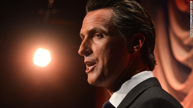 California Lt. Gov. Gavin Newsom is calling for a new model that brings government into the world of 21st century technology.