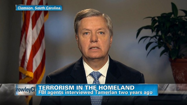 Graham: Ball was dropped in probe of Tamerlan Tsarnaev