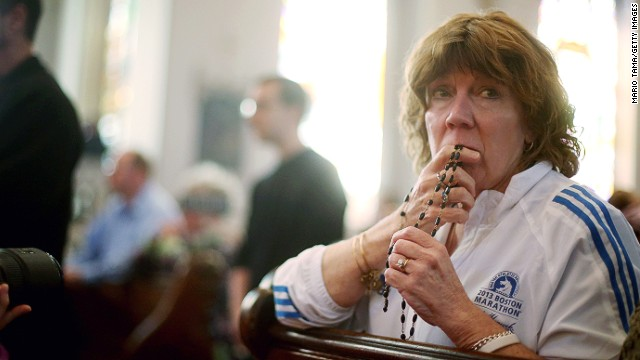 Boston mourns as religious groups offer healing