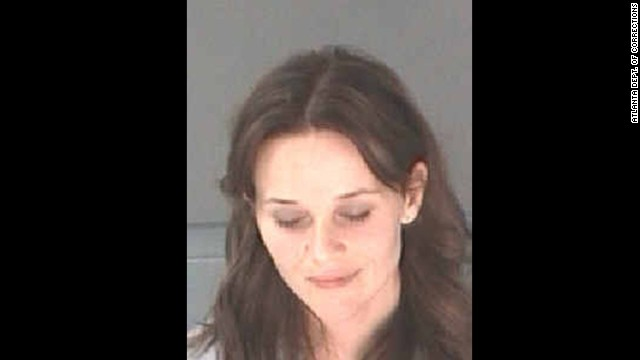 Actress Reese Witherspoon and husband Jim Toth were arrested early April 19 in Atlanta after Toth was pulled over for suspected drunken driving with Witherspoon in the car, the Georgia State Patrol said.