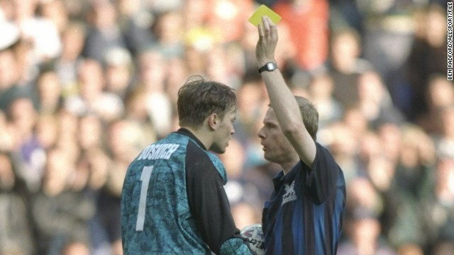 Bosnich ended up in rehab a matter of months later after developing a drug habit.