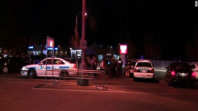Five people are dead after a bloody gun battle in an apartment complex in Seattle on Sunday night.
