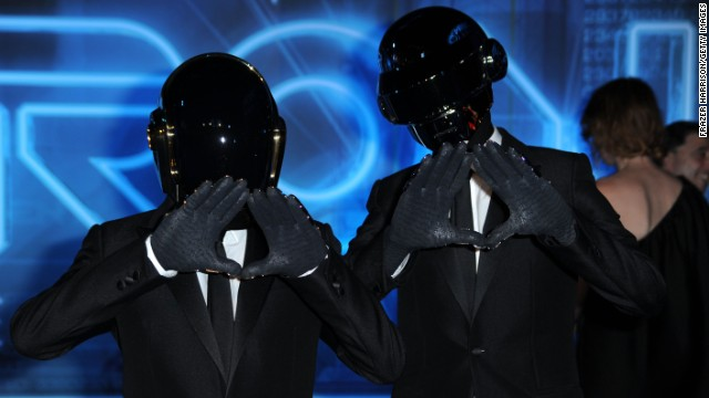 Daft Punk's 'Get Lucky' is most streamed on Spotify