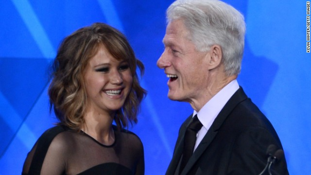 Watch: Lawrence flubs Clinton's name at GLAAD Media Awards