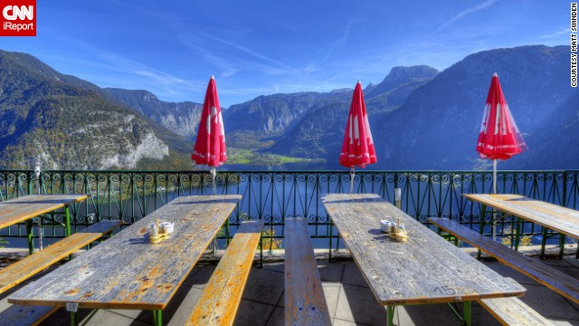 The village of <a href='http://ireport.cnn.com/docs/DOC-858934'>Hallstatt</a> sits amongst the gorgeous mountains and lakes of Austria. See more stunning views of the town on <a href='http://ireport.cnn.com/docs/DOC-858934'>CNN iReport</a>.