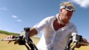 Bourdain travels off-road for lunch