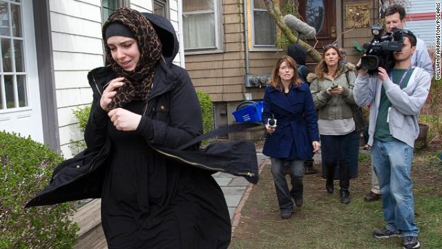 La esposa del sospechoso de Boston reaparece