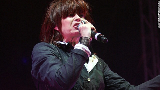 Australian rocker Chrissy Amphlett, the Divinyls lead singer whose group scored an international hit with the sexually charged &quot;I Touch Myself&quot; in the early 1990s, died on April 21 from breast cancer and multiple sclerosis, her husband said. She was 53.