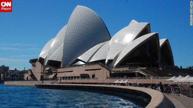 The Sydney Opera House, opened in 1973, is an architectural icon. See photos of the inside on <a href='http://ireport.cnn.com/docs/DOC-849278'>CNN iReport</a>.