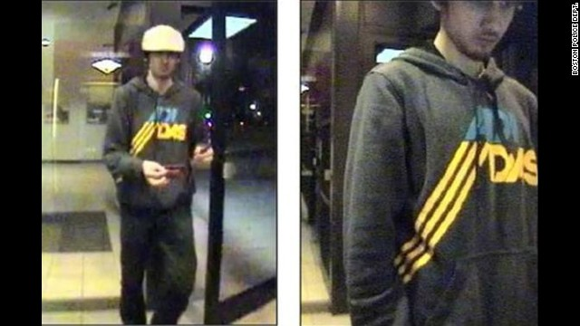 Boston Police released surveillance images of Dzhokhar Tsarnaev at a convenience store on April 19.